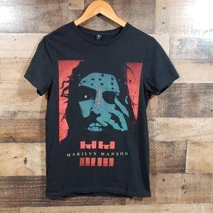 Bay Island Marilyn Manson graphic t-shirt